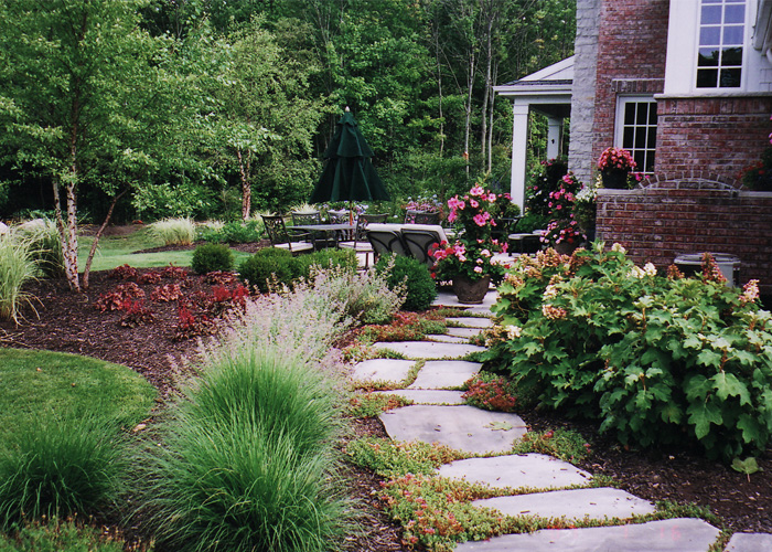 Photo gallery for Walkway landscaping
