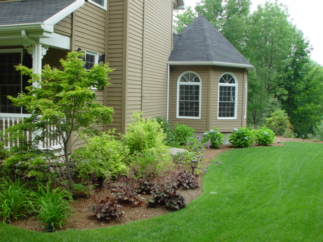 Photo gallery for Landscaping plants for front of house